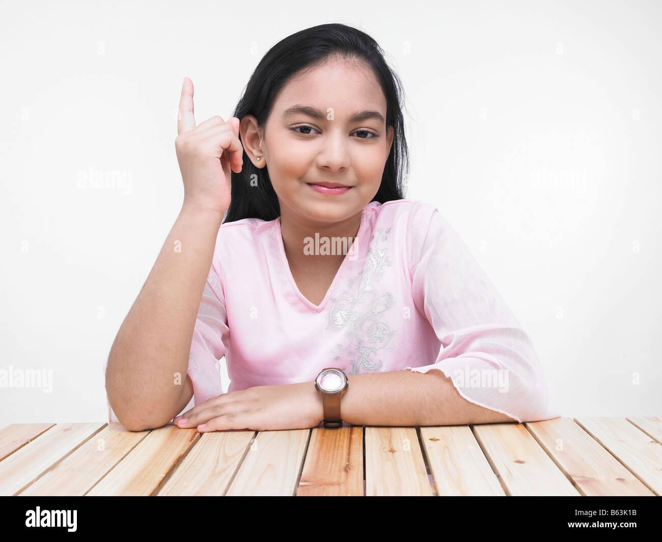 Asian teen hand #1