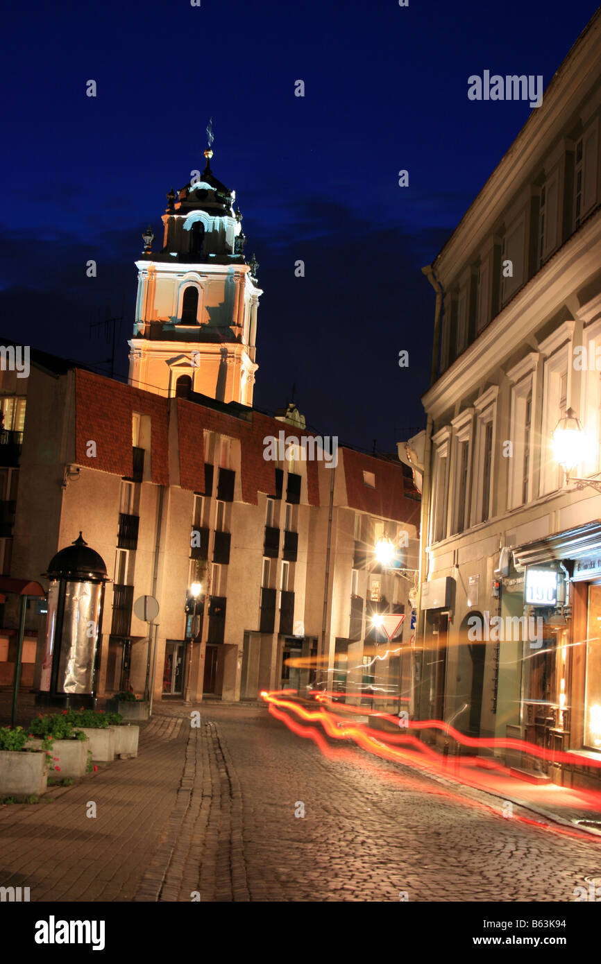 Old town, Vilnius, Lithuania - Stock Image