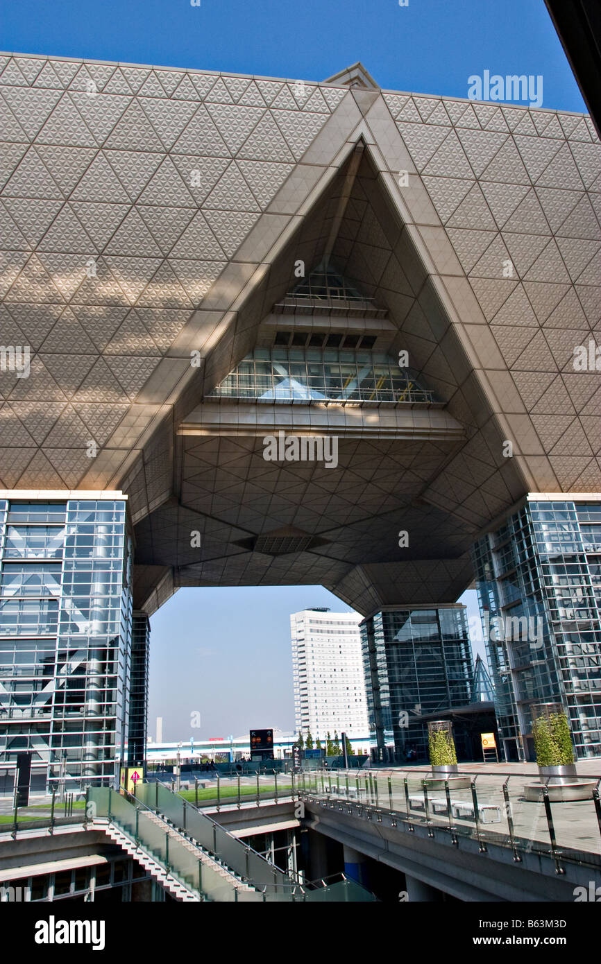Tokyo Big Sight conference and exhibition centre in Odaiba, Tokyo, Japan - Stock Image
