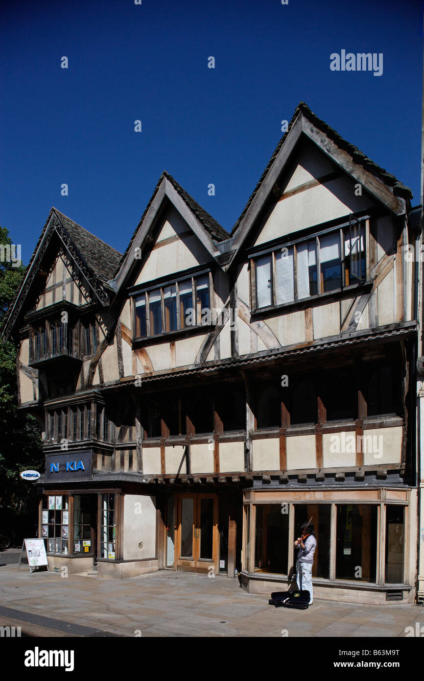 Oxford Holywell Sreet Oxfordshire the Midlands UK United Kingdom Great Britain - Stock Image