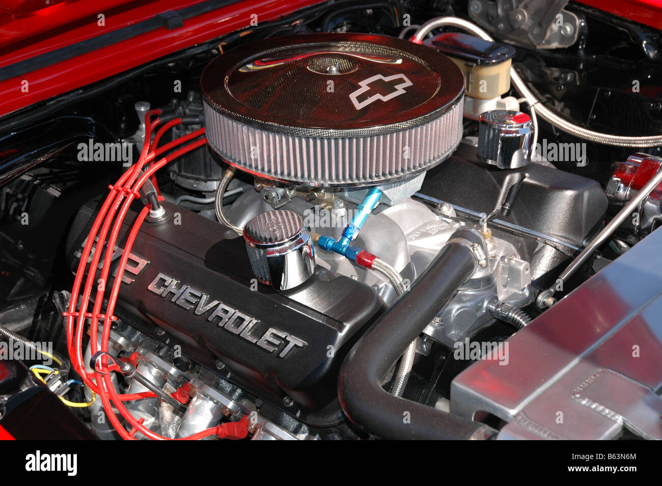 572 Big Block Chevy Engine Stock Photo: 20980812 - Alamy