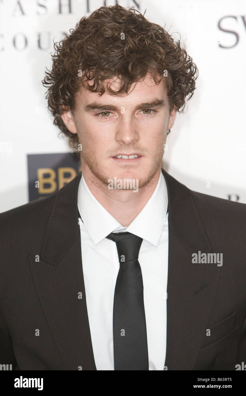 Jamie Murray attending British fashion awards St Vincent square London 25th of November 2008 - Stock Image