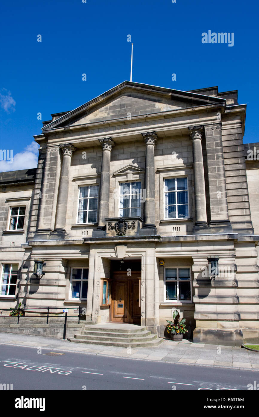 Town Council Offices Harrogate UK - Stock Image
