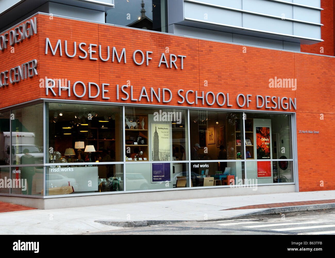 Rhode Island School Of Design  College Steet
