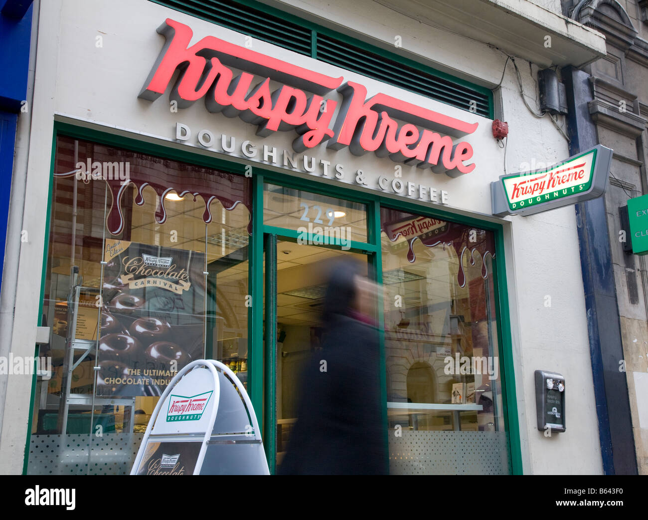 Krispy Kreme has 35 locations in the UK. Donut Shops Restaurants Breakfast, Brunch & Lunch. Related brands. Related News. Teachers get free Krispy Kreme coffee in June and July. Salisbury to Welcome Krispy Kreme to the Area. Charlottesville Shopping Center To Get Medical Clinic and Donuts. Popular Brands. Subway. Locations. McDonald's.