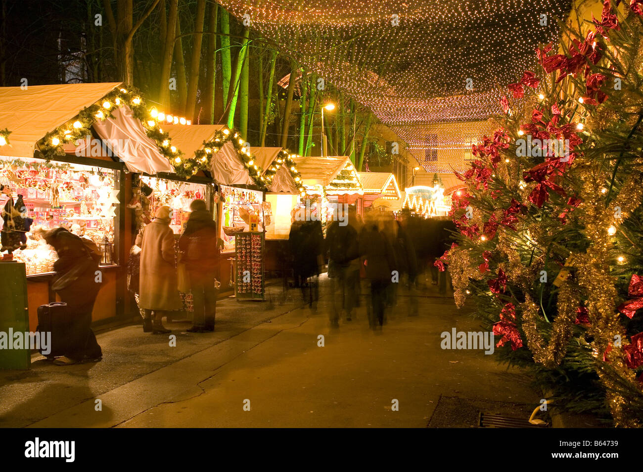 Christmas Markets, Berlin, Germany - Stock Image