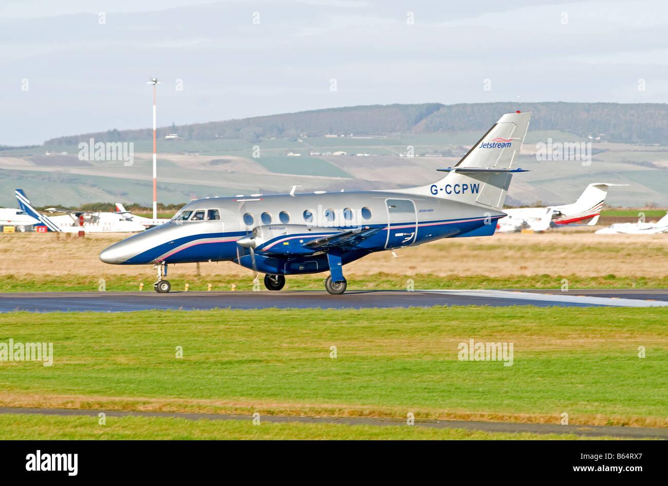 Jetstream Express British Aerospace BAe-3112 Jetstream 31   SCO 2016 - Stock Image