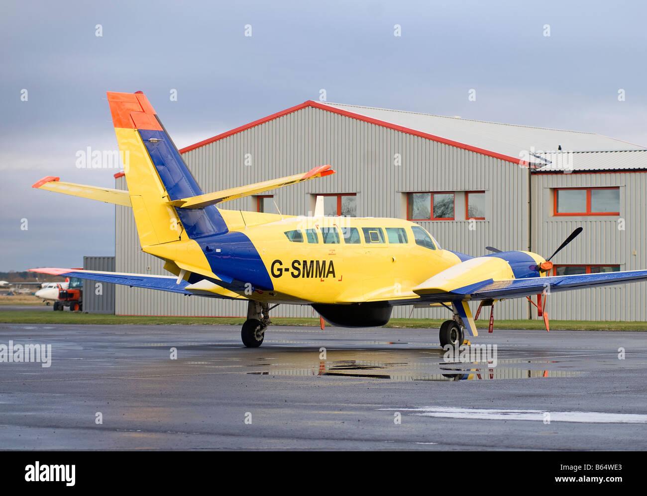 Scottish Fisheries Protection Agency Reims-Cessna F406 Caravan II SCO 2003 - Stock Image