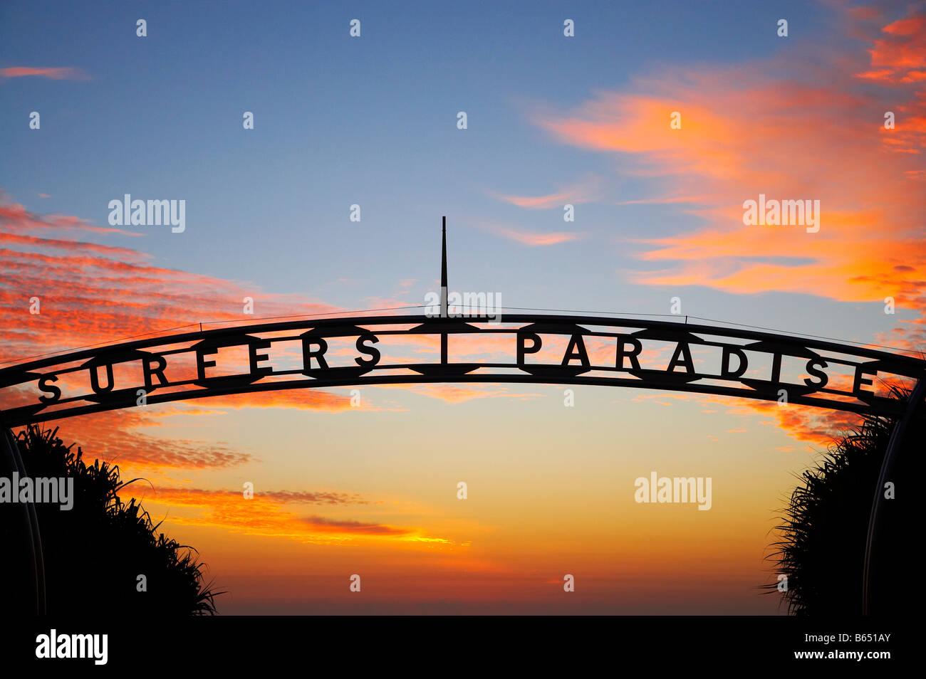 Sunrise Surfers Paradise Gold Coast Queensland Australia