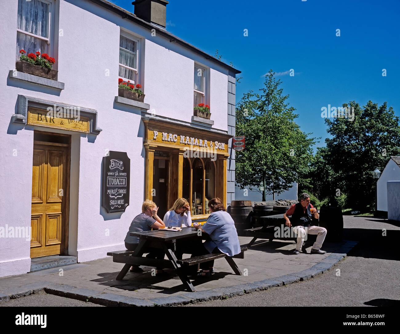 1380 Bunratty Castle Folk Park Co Clare Republic of Ireland Stock Photo