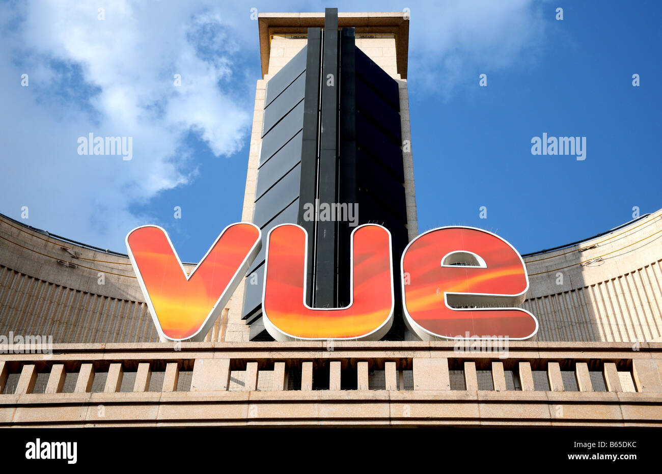 Vue Cinema in London's Leicester Square - Stock Image