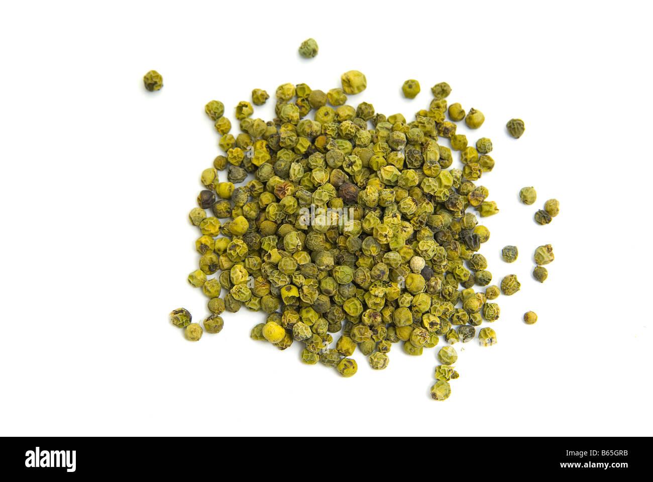 Green pepper - Stock Image