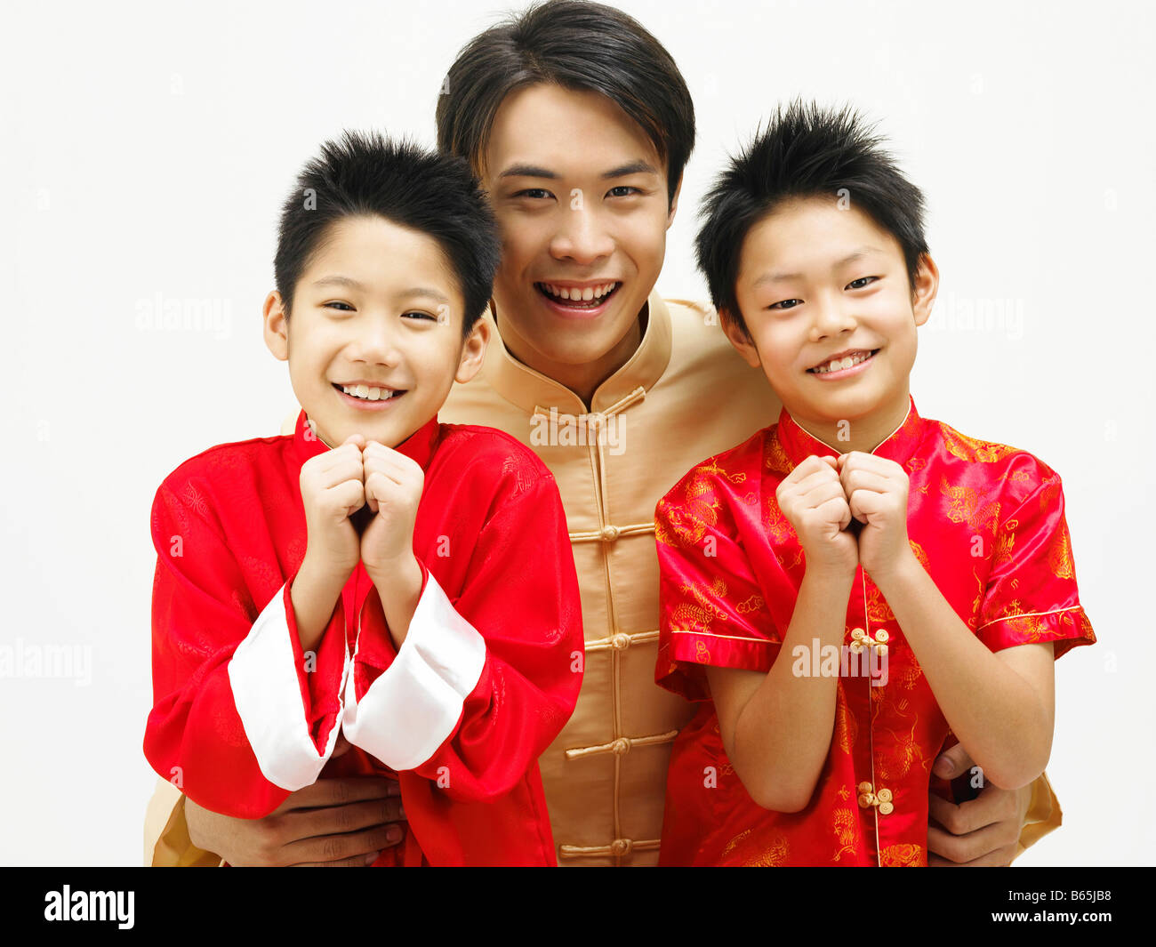 family greeting for chinese new year