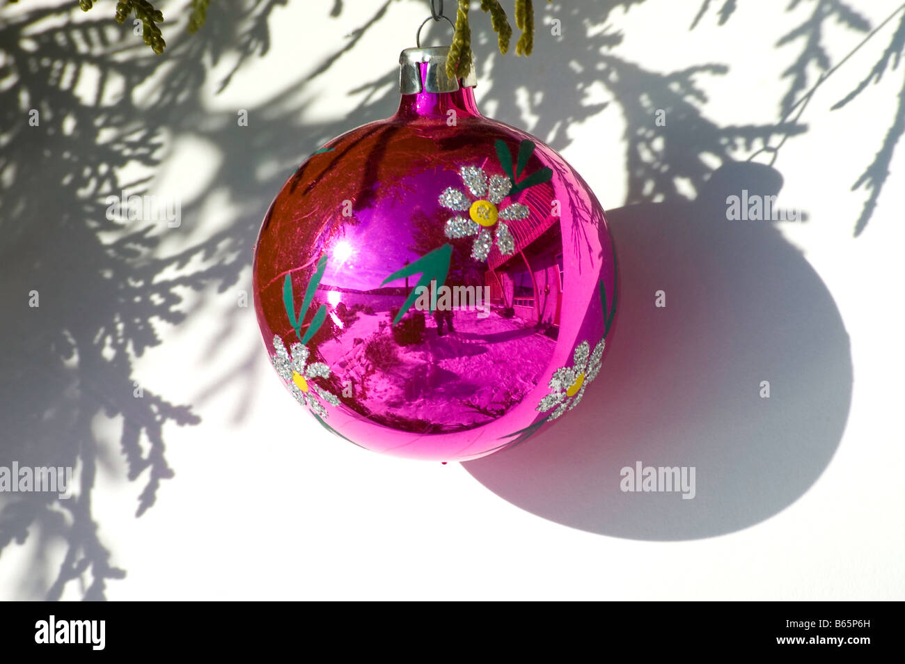 Wierd Christmas Ornament.Weird Christmas Decorations Stock Photos Weird Christmas