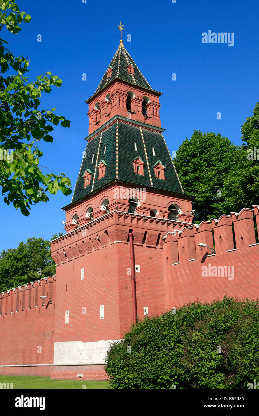 Kremlin towers: names and their height 15