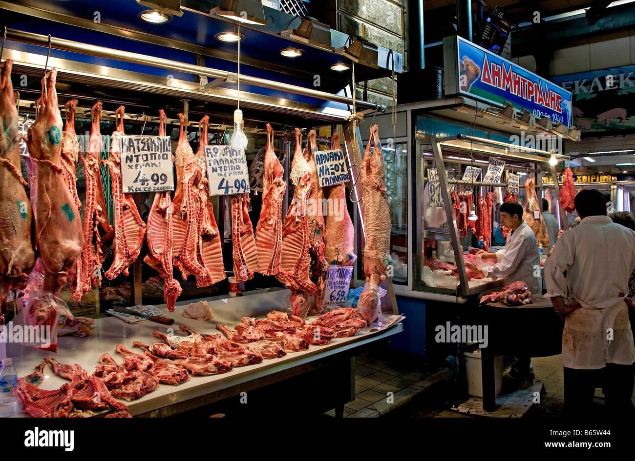 butcher central food meat market stock photos butcher. Black Bedroom Furniture Sets. Home Design Ideas