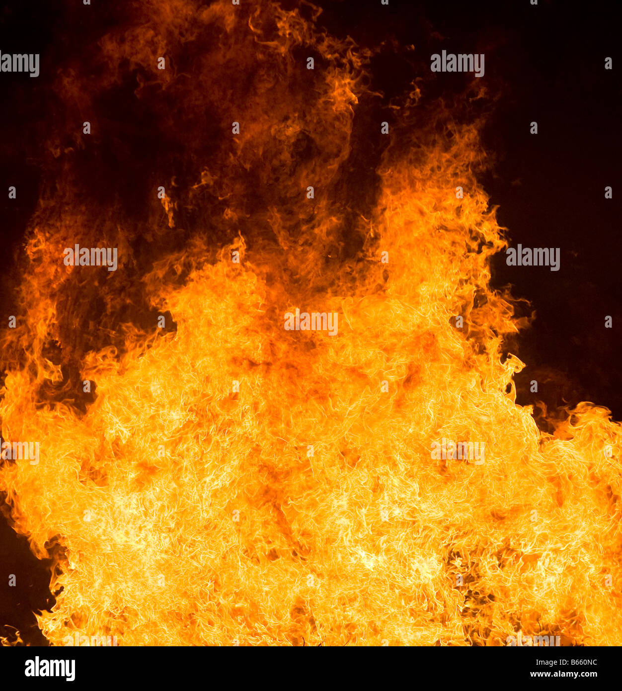 highly detailed abstract fire background - Stock Image