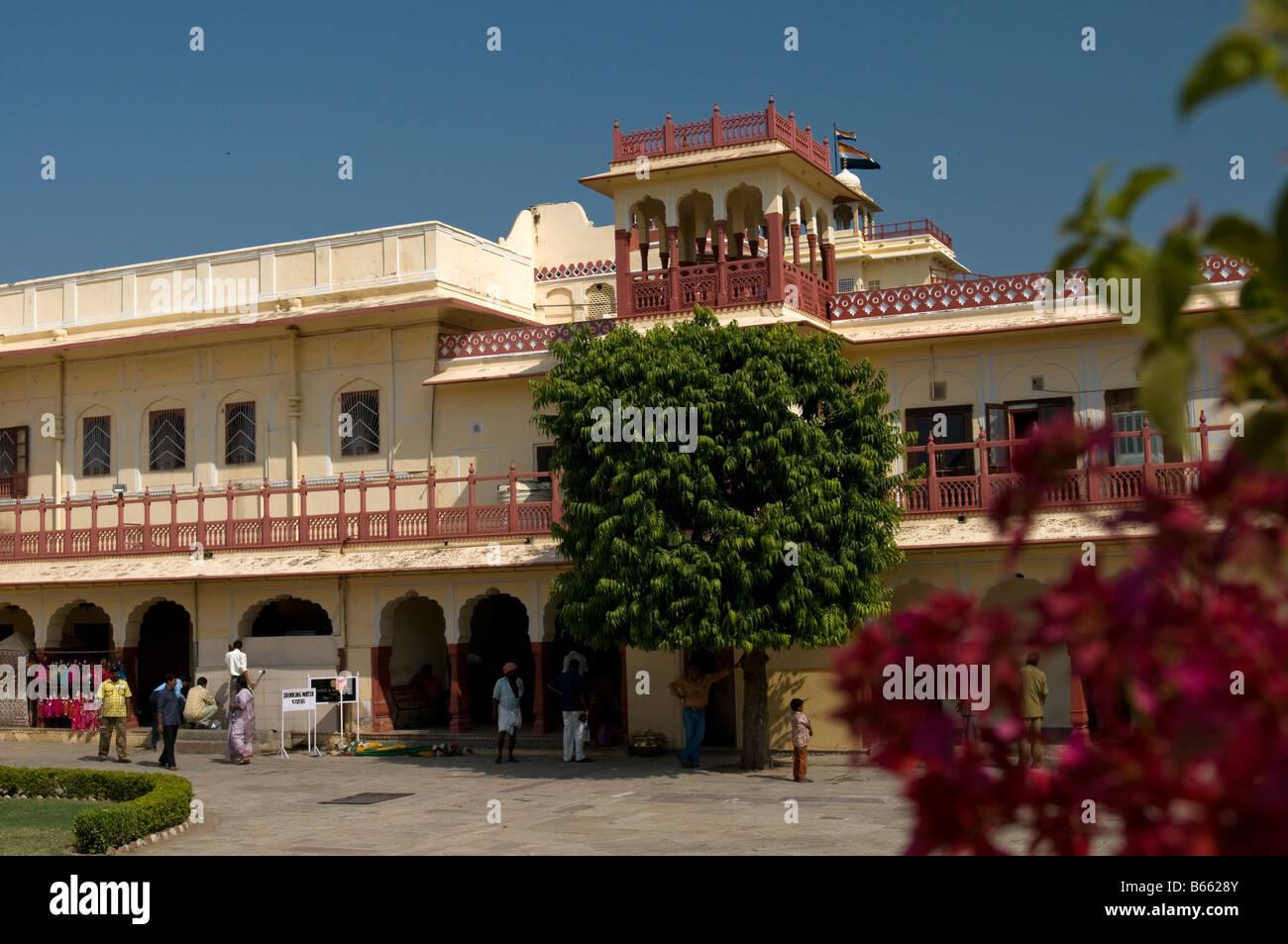 City Palace. Jaipur. Rajasthan. India - Stock Image