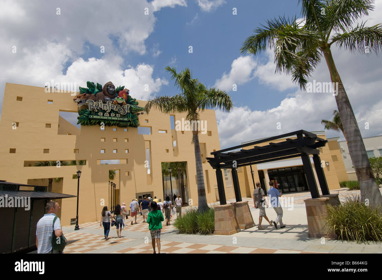 Sawgrass Mills Mall Fort Lauderdale Gold Coast Florida United States of America - Stock Image
