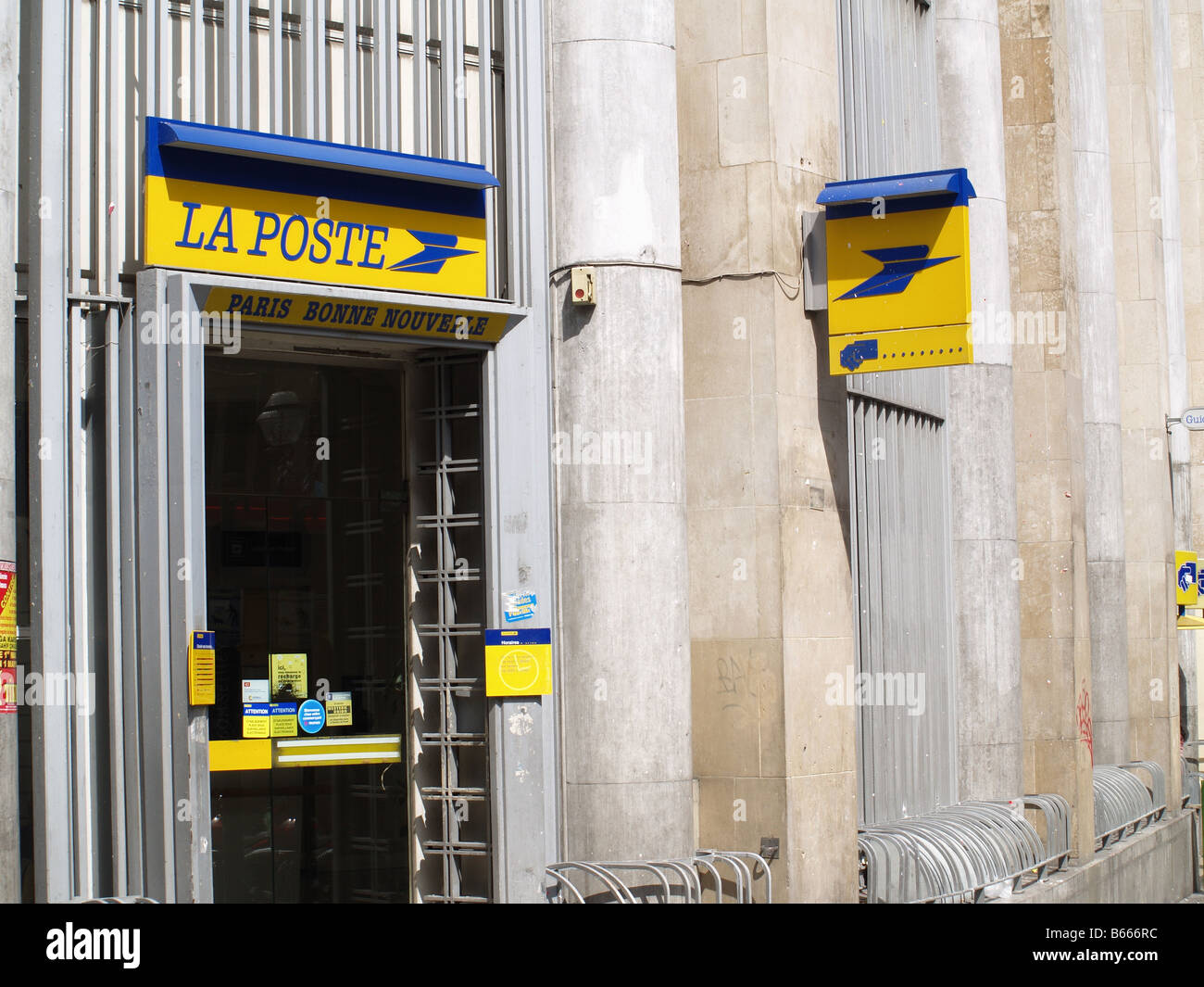 La Poste (Post Office) Paris france - Stock Image