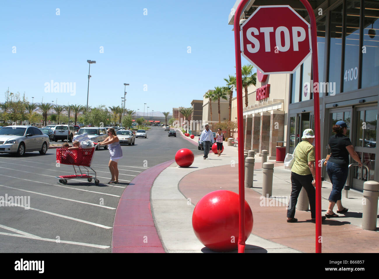 Outside Target Retail Store In California United States Of America