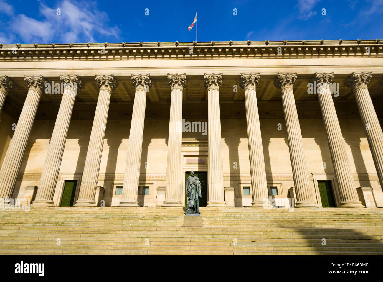 St Georges Hall, Liverpool, Merseyside, England, UK - Stock Image