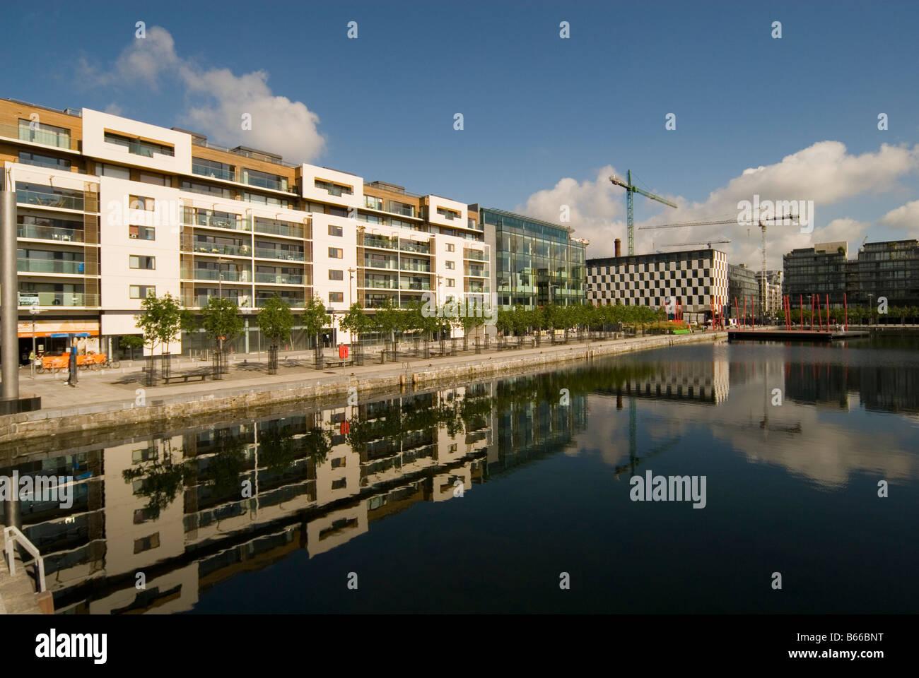 Dublin Docklands, Ireland Stock Photo
