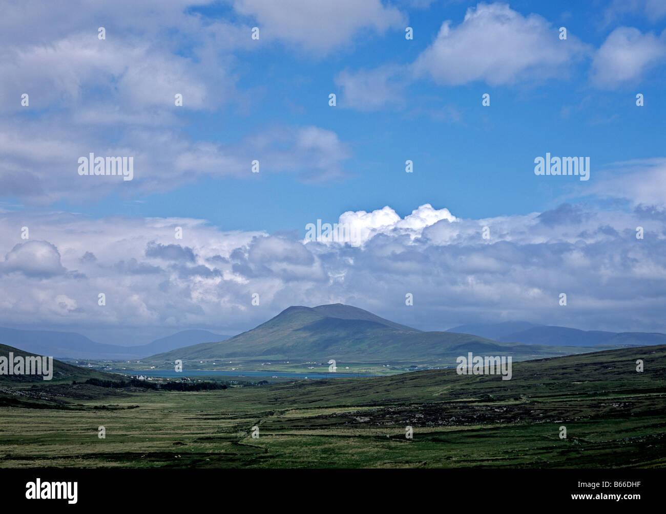 1578 Tonregee from Achill Island Co Mayo Republic of Ireland - Stock Image
