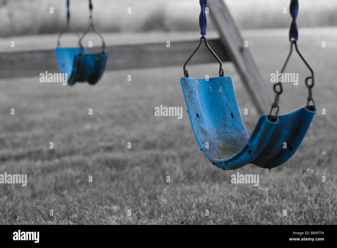 Swing set. - Stock Image