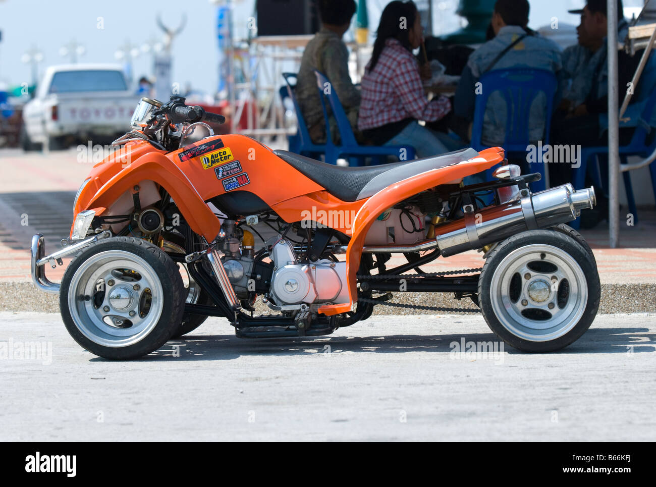 motorcycle modified images  Modified Motorbike Stock Photos