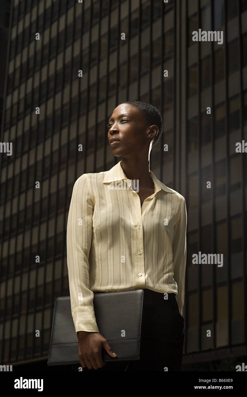 African businesswoman - Stock Image