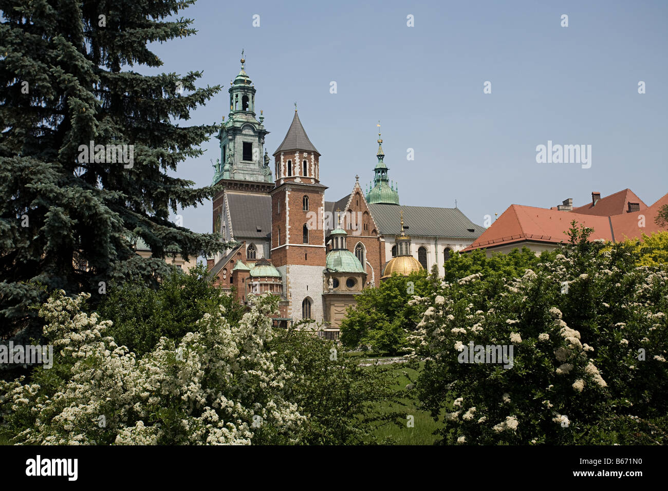 Wawel cathedral - Stock Image