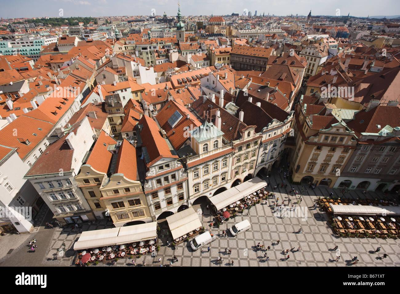 Stare mesto prague - Stock Image
