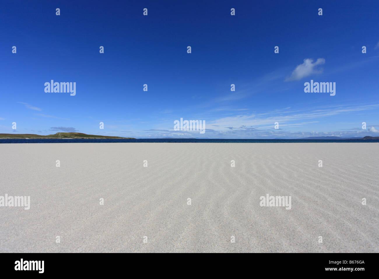 Ardnave beach 'Deserted beach' Scotland summer, 'Islay' - Stock Image