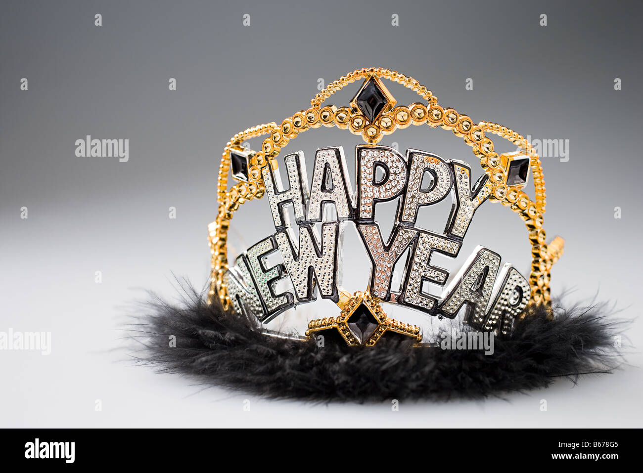 New years eve crown - Stock Image