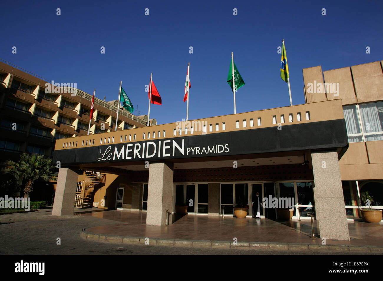 Le Meridien Pyramids Hotel In Cairo Egypt Stock Photo Alamy