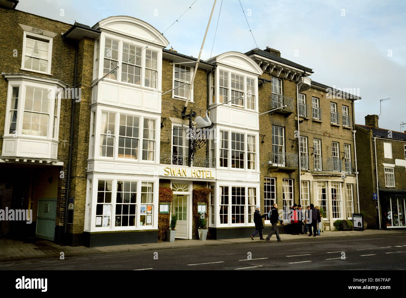 The Swan Hotel, Southwold, Suffolk, England - Stock Image