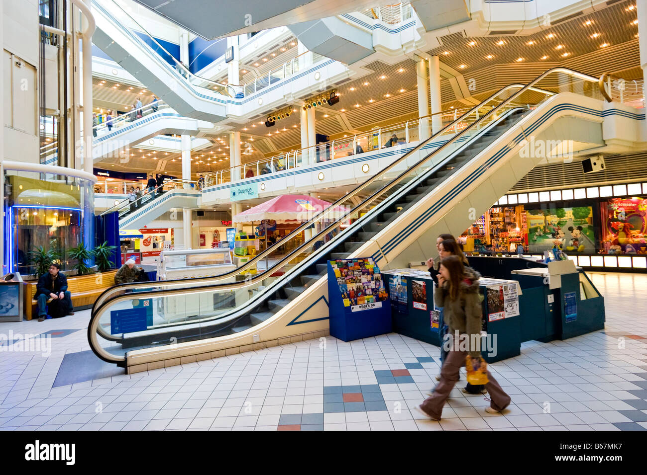 cfcc84383f Princes Quay shopping centre uk in Hull East Yorkshire England UK - Stock  Image