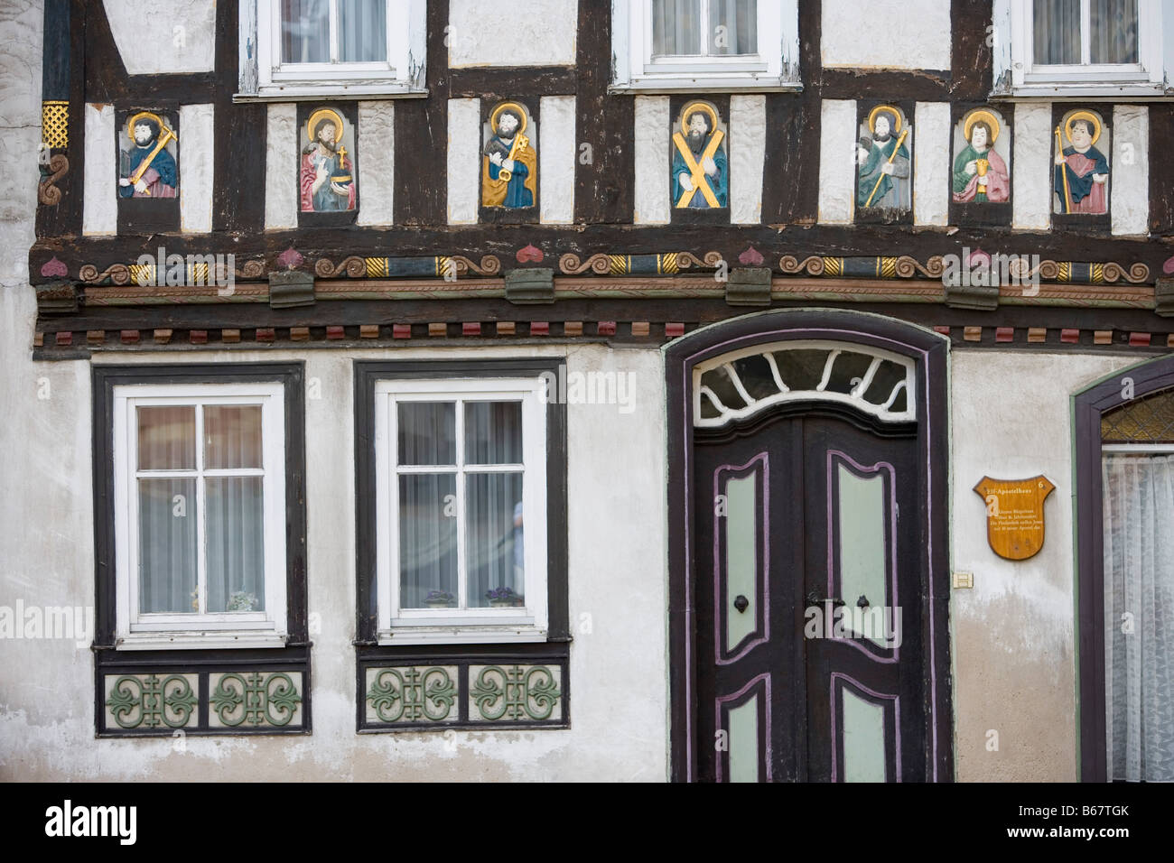 Bezaubernd Fassade Haus Galerie Von Timberframe Of Elf-apostel- 11 Apostles E, Tann,