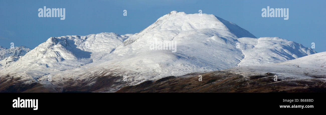 Ben Lomond and Ptarmigan seen from Duncolm Hill - Stock Image