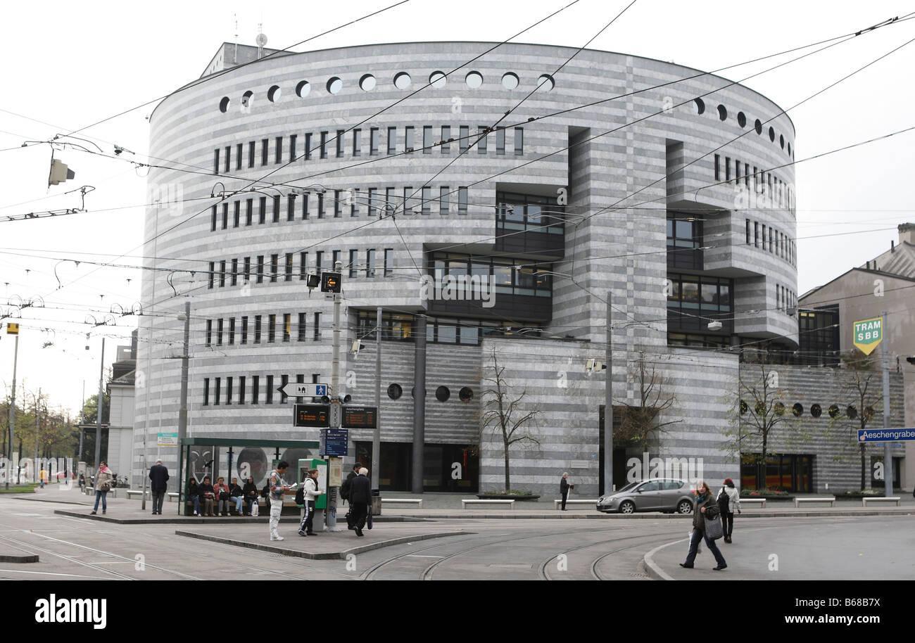 Bank for International Settlements in Basel,Switzerland - Stock Image