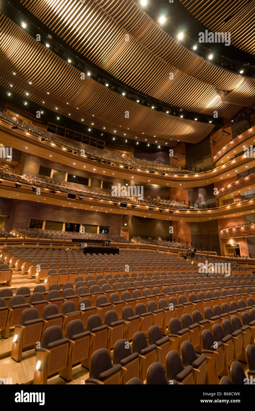 Inside The Main Auditorium The Donald Gordon Theatre At