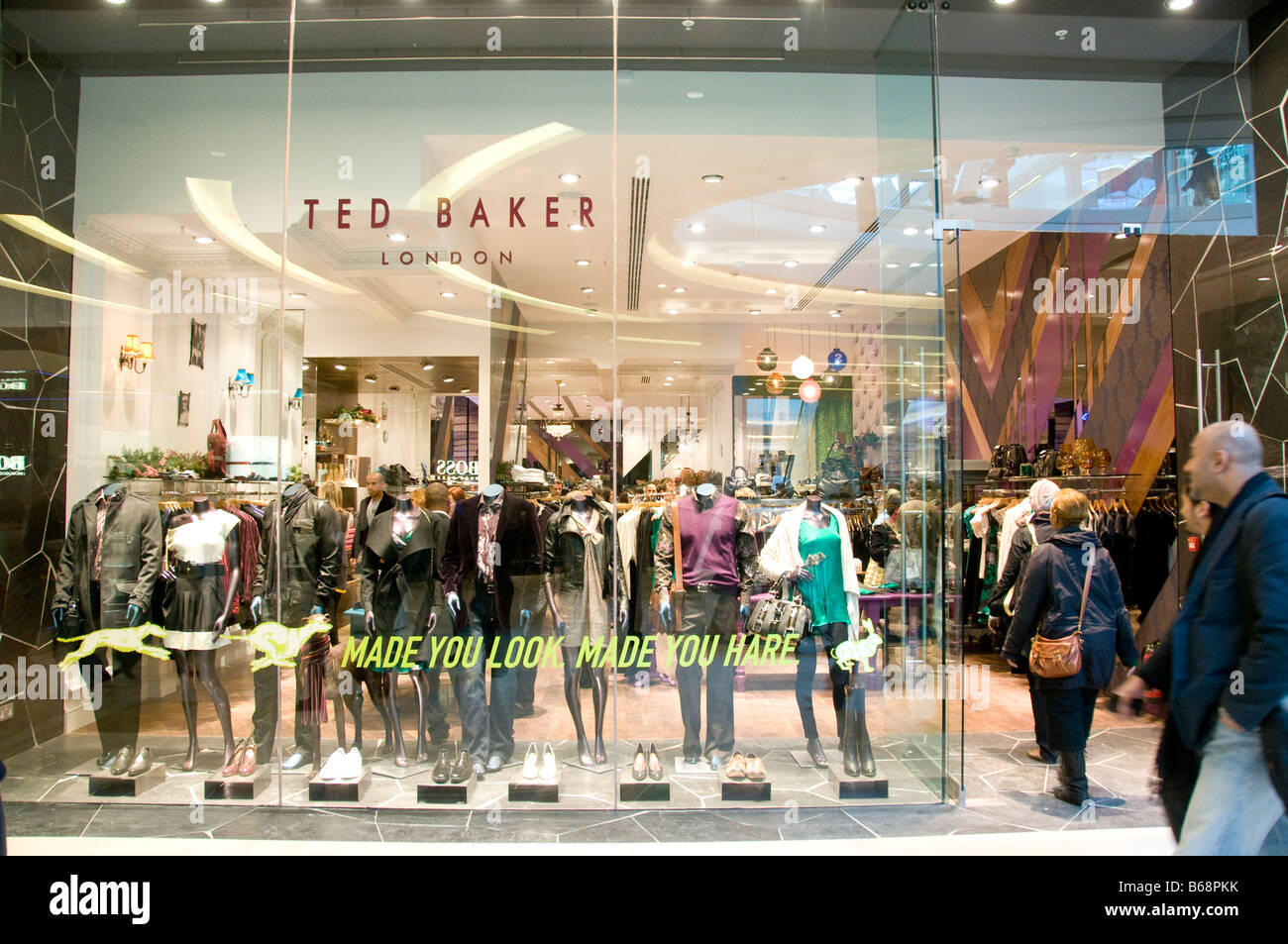 Ted Baker in London - Stock Image