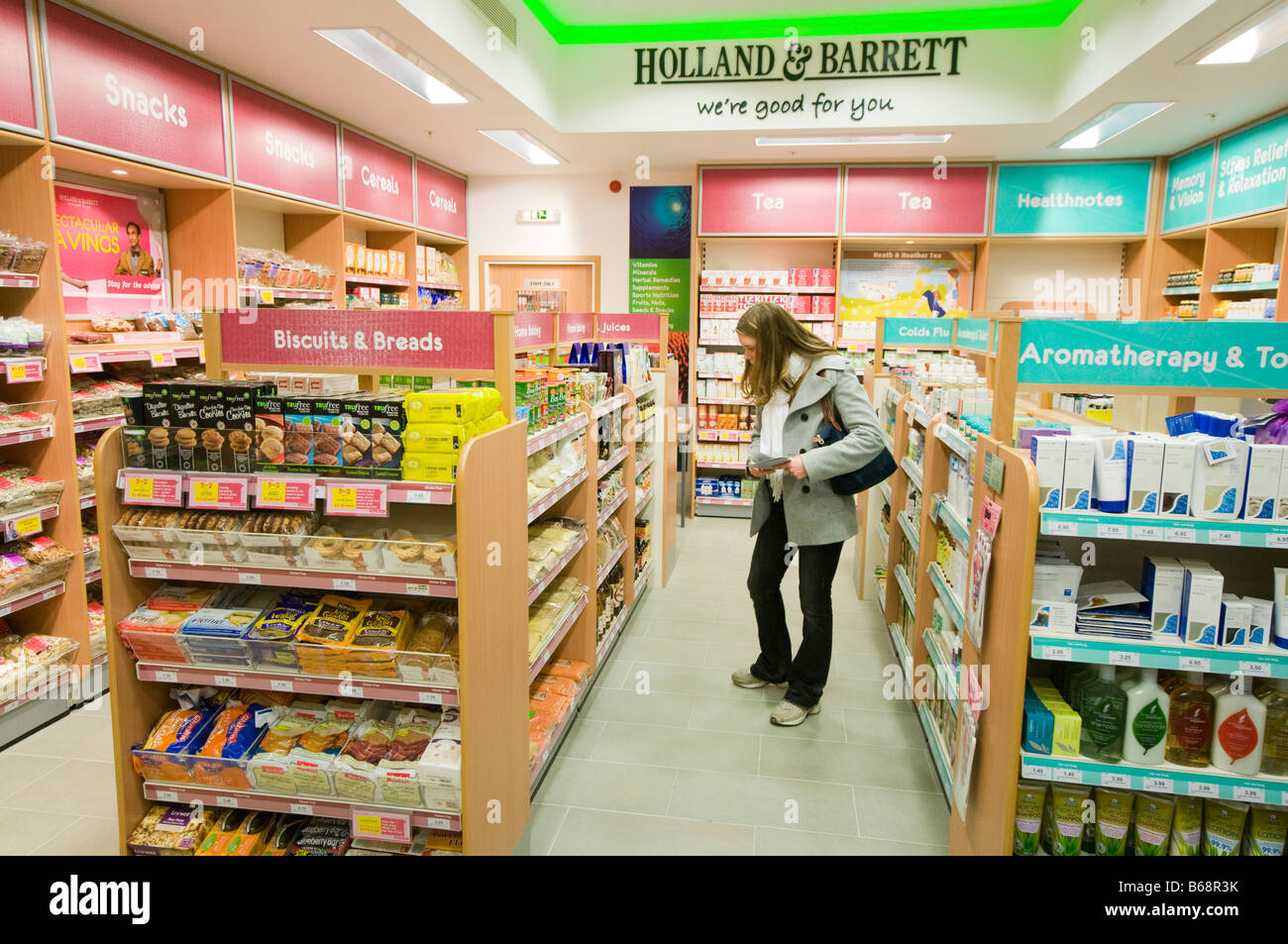 Holland and Barrett - Stock Image
