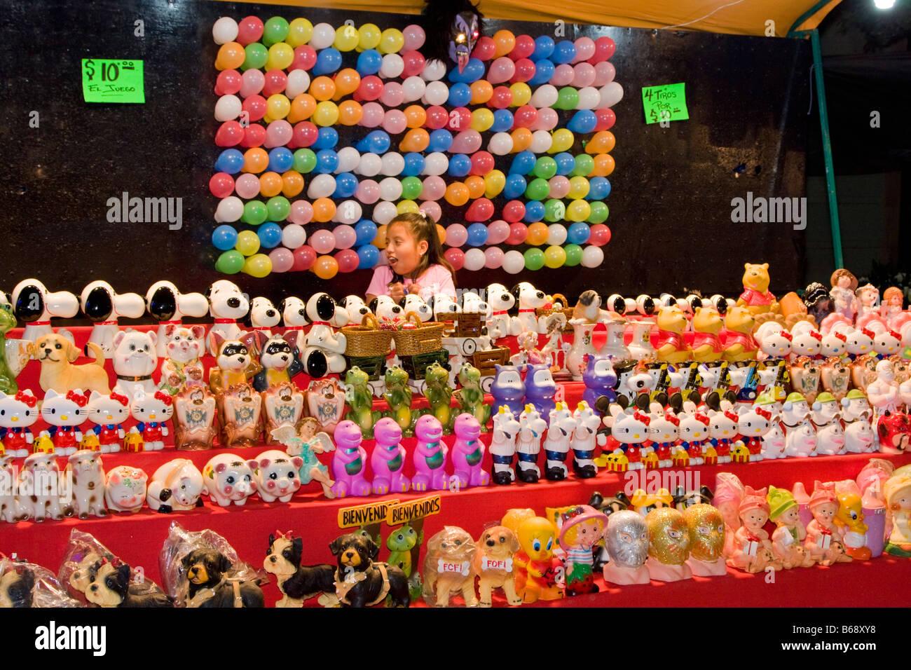 Balloon Dart Throw Carnival Game Stock Photos Balloon Dart Throw