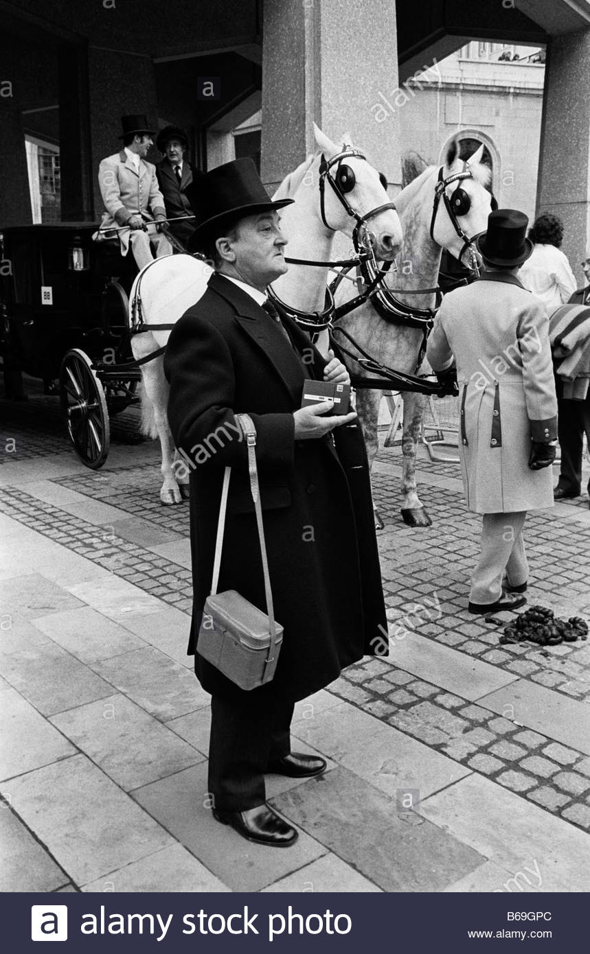The English at play in the 1970s Part 2 Lord Mayor s Show in London - Stock Image