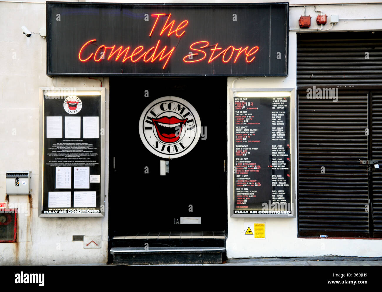 Comedy Store in London's West End Stock Photo