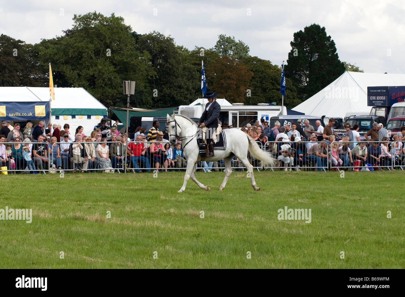 Spanish dressage at the Romsey Show 2008 - Stock Image