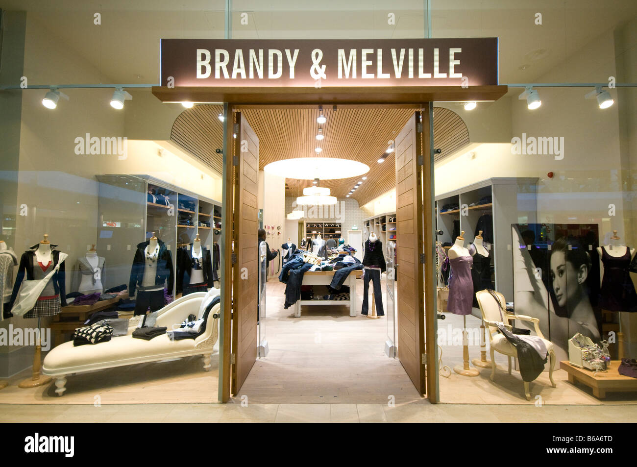 Brandy and Melville Stock Photo