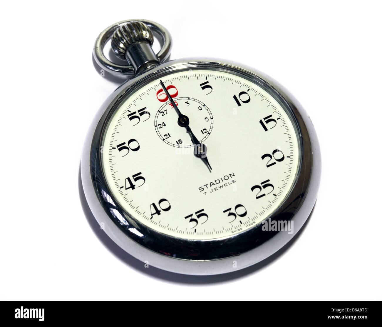 Old Fashioned Stadion Stopwatch - Stock Image